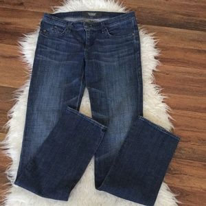 ROCK REPUBLIC Distressed Boot Cut Jeans Size 29